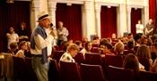 Branko Lustig on Educational morning in Zagreb