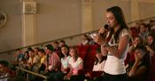 Učenica govori o toleranciji na zagrebačkoj edukaciji 2011.