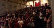 Publika u kinu Europa na 2. Festivalu