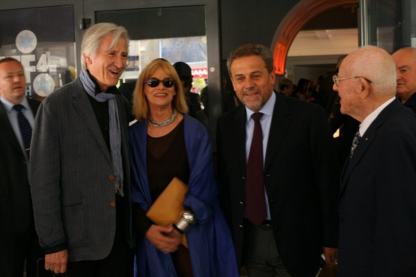 Zagrebački gradonačelnik Milan Bandić na otvaranju 4. JFF-a